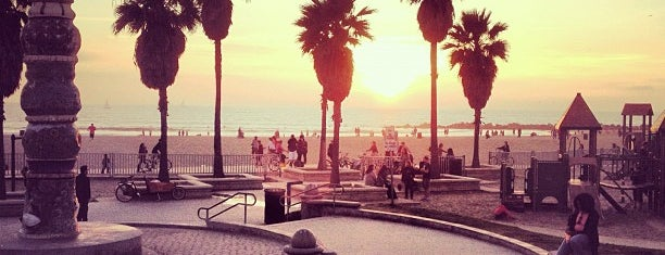 Venice Beach is one of L.A..
