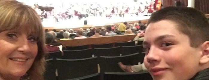 Sangamon Auditorium, UIS is one of Springfield, Springfield!!.
