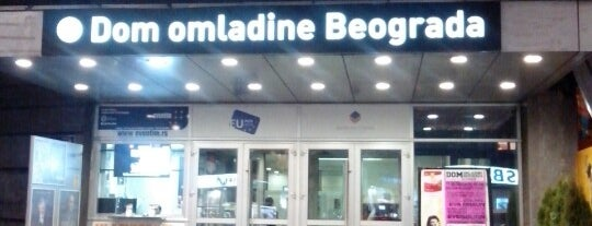 Dom omladine Beograda is one of Guide to Belgrade's best spots.