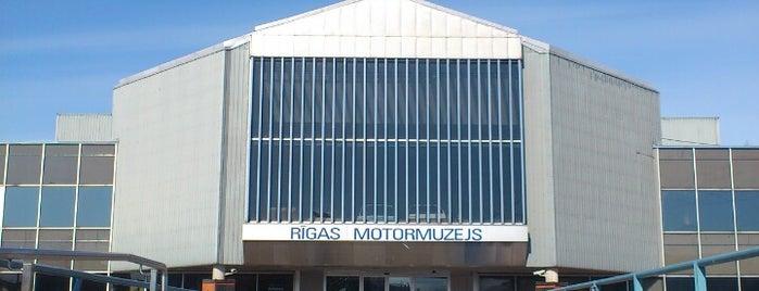 Rīgas Motormuzejs is one of Unveil Riga : Atklāj Rīgu : Открой Ригу.
