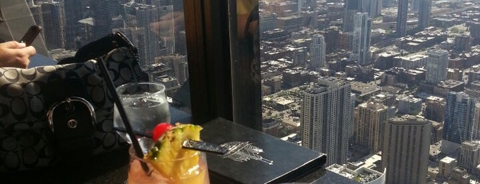 The Signature Lounge at the 96th is one of Chicago.