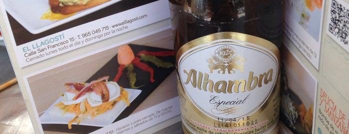 El Mos - Taberna Mediterránea is one of los mejores sitios para comer en Alicante.