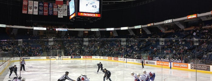 FirstOntario Centre is one of JYM Hockey Arenas TOP100.
