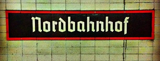 S Nordbahnhof is one of Besuchte Berliner Bahnhöfe.