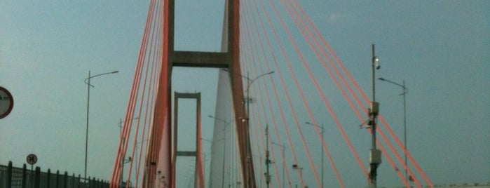 Suramadu Bridge is one of A local's guide: 48 hours in Bangkalan, Indonesia.