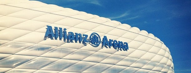 Allianz Arena is one of stadium.