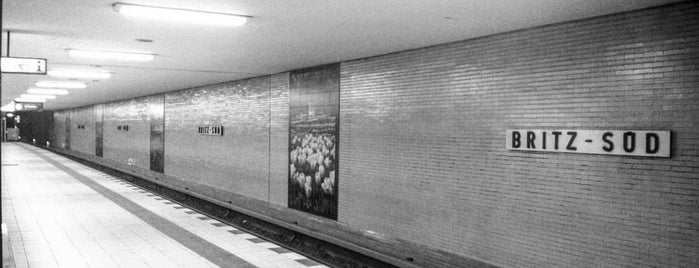 U Britz-Süd is one of U-Bahn Berlin.