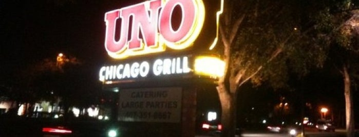 Uno Pizzeria & Grill is one of Lunch Run!!!.
