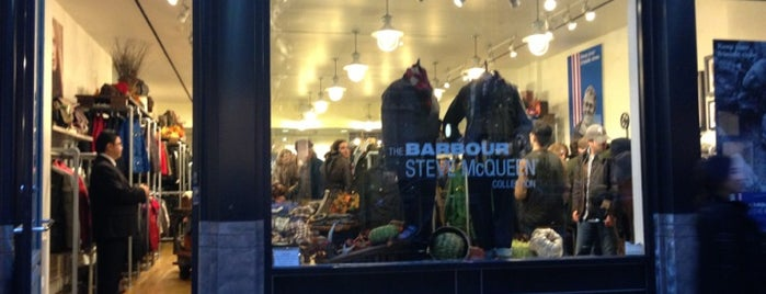Barbour is one of Shops to visit | New York.