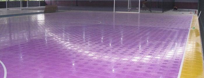 Nisrina Futsal Centre (Lapangan Futsal Standart Internasional) is one of Lapangan Futsal.