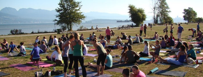 Kitsilano Beach is one of Favorite Places Around the World.