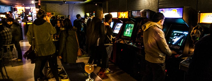 Barcade is one of Beer Here!.