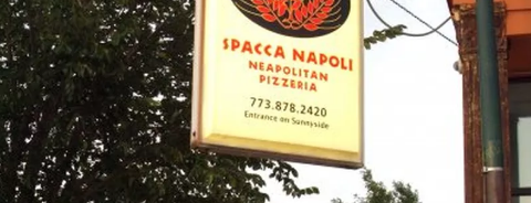 Spacca Napoli Pizzeria is one of The 38 Essential Chicago Restaurants, Summer 2016.