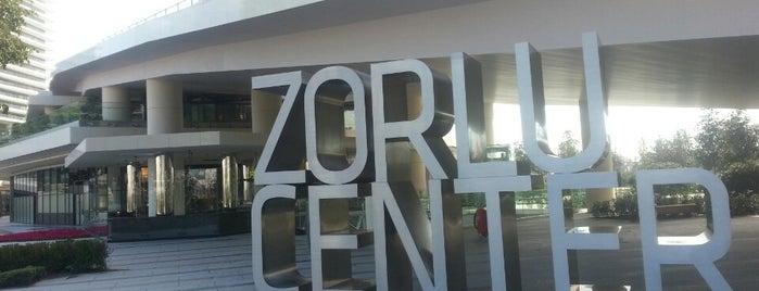 Zorlu Center is one of İstanbul'daki Alışveriş Merkezleri.