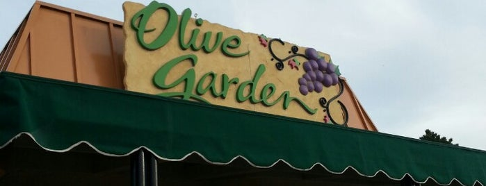 Olive Garden is one of Places to eat.
