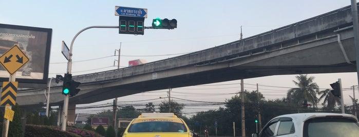 แยกกิ่งแก้ว (King Kaeo Junction) is one of M-TH-18.