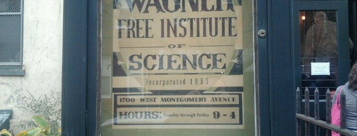 Wagner Free Institute of Science is one of Quirky Attractions in Philadelphia.