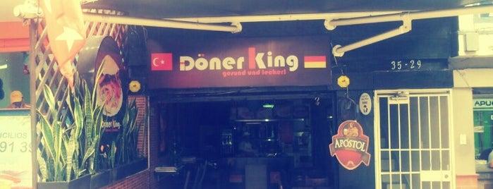 Döner King is one of Top 10 favorites places in Medellín, Colombia.