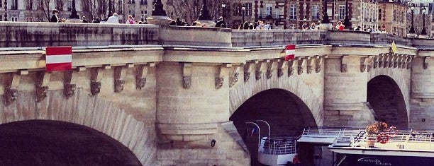 Pont Neuf is one of Paris Attractions.