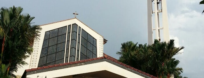 Catholic Church of St. Francis Xavier is one of The Houses of Prayers & Worship.