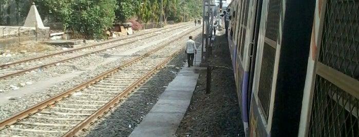 Thambivali is one of Mumbai Suburban Western Railway.