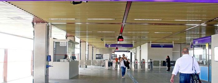 Estação USP-Leste (CPTM) is one of Transporte.