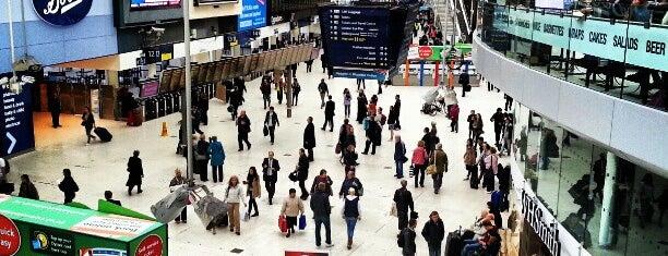 London Waterloo Railway Station (WAT) is one of M!.