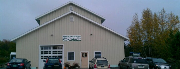 Kingdom Brewing is one of Vermont breweries.