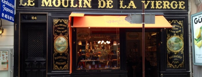 Le Moulin de La Vierge is one of Three Jane's Guide to Paris.