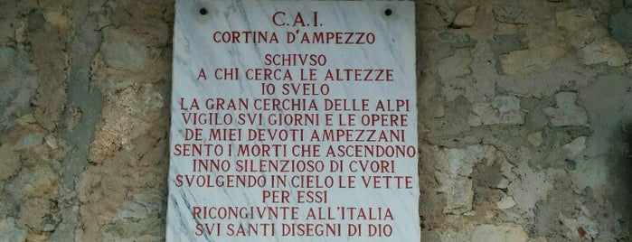 Rifugio Nuvolau is one of Cortina.