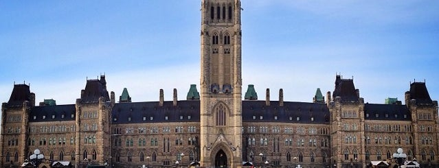 Parliament of Canada - Centre Block is one of Ottawa.