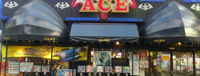 ゲームエース 南八幡 is one of beatmania IIDX 設置店舗.