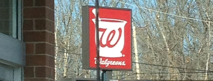 Walgreens is one of Frequent Places.