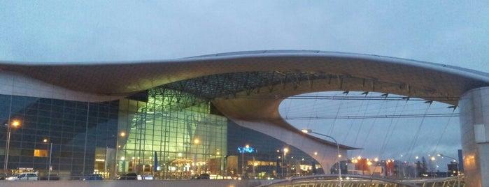 Sheremetyevo International Airport (SVO) is one of Места.