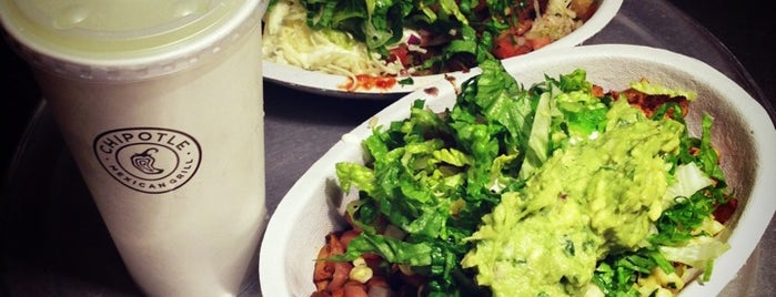Chipotle Mexican Grill is one of food nyc.