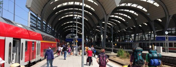 Kiel Hauptbahnhof is one of Ausgewählte Bahnhöfe.