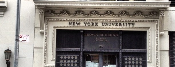 NYU Brown Building is one of NYC Stay-cation.