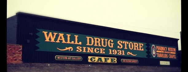 Wall Drug is one of Seattle - Baltimore.