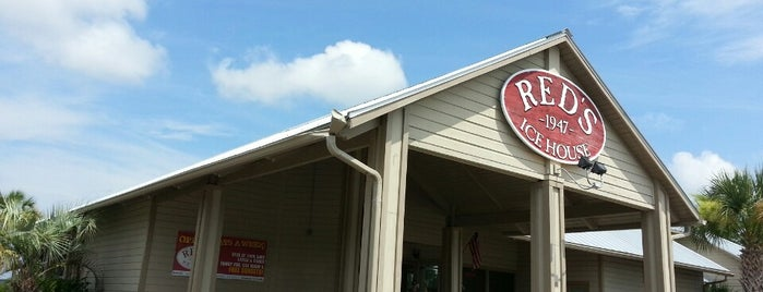 Red's Ice House is one of GRAte spots.