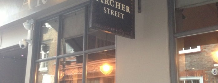 Archer Street is one of PIBWTD.