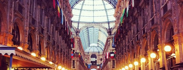 Galleria Vittorio Emanuele II is one of B.
