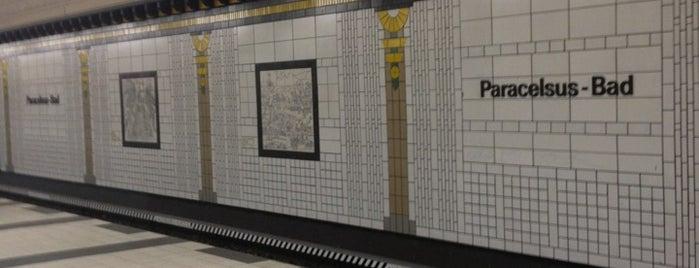 U+H Paracelsus-Bad is one of U-Bahn Berlin.