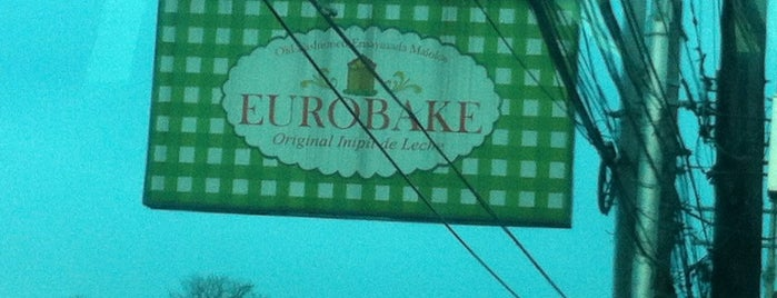Eurobake Restaurant & Bakeshop is one of fave spot.