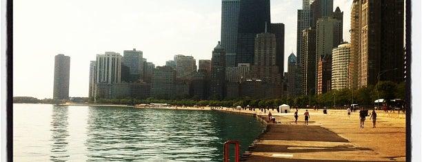Oak Street Beach is one of Guide to Chicago's best spots.
