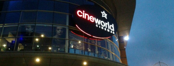 Cineworld is one of Places that make me happy.