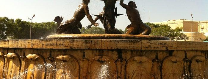 Triton Fountain is one of Malta Cultural Spots.