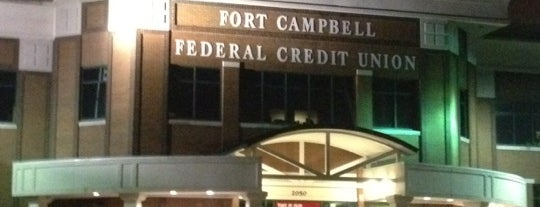 Fort Campbell Federal Credit Union is one of Places.