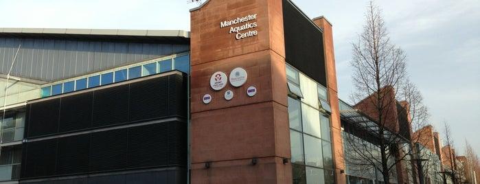 Manchester Aquatics Centre is one of Olympics.