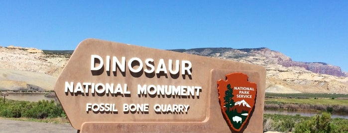 Dinosaur National Monument is one of National Parks.