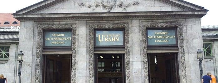 U Wittenbergplatz is one of Besuchte Berliner Bahnhöfe.